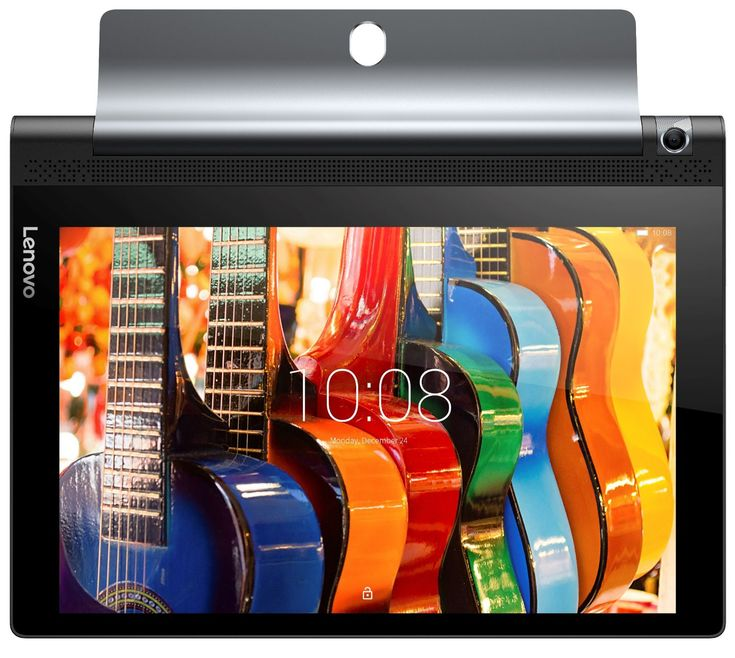"""Lenovo Yoga Tab 3 Pro Tablette tactile avec projecteur 10"""" QHD Noir + Projecteur intégré 50 Lumens"""