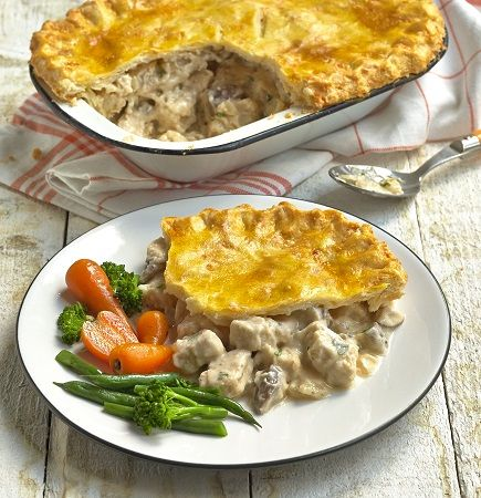 Quorn Gluten Free Meat Free Chicken and Mushroom Pie