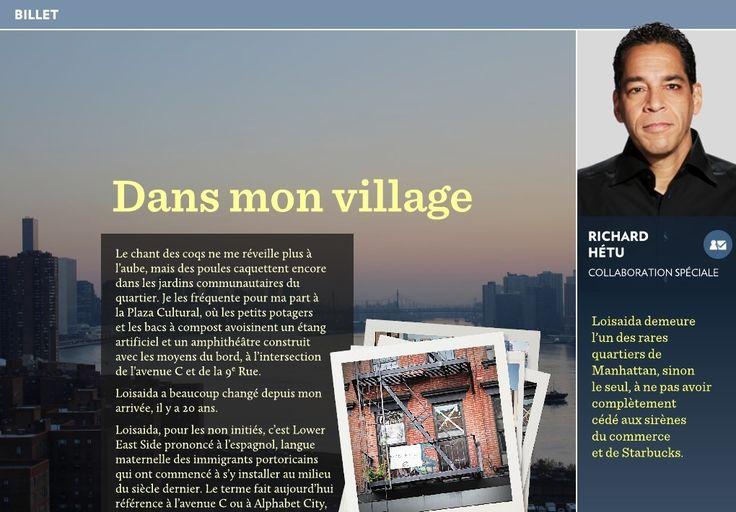 Le village de Richard Hétu - La Presse+