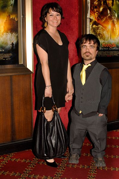 Erica Schmidt and Peter Dinklage attend Walt Disney Pictures Walden Media Present THE CHRONICLES OF NARNIA PRINCE CASPIAN at Ziegfeld Theatre on May...