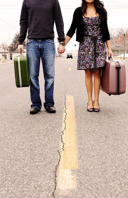 """Journeys often begin together."""