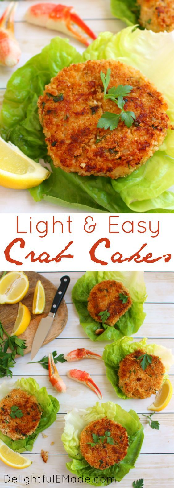 The best crab cakes you'll ever have! Filled with sweet, delicious Alaskan Snow Crab, and seasoned with fresh ingredients, these crab cakes will be a perfect dinner solution any night of the week! #WildAlaskaSeafood #CleverGirls