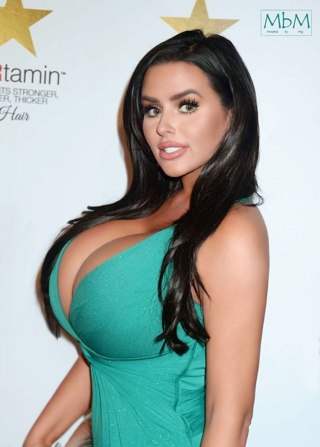 Rascal pick - Abigail Ratchford - Long Hair - Busty Beauty - Breast  Expansion