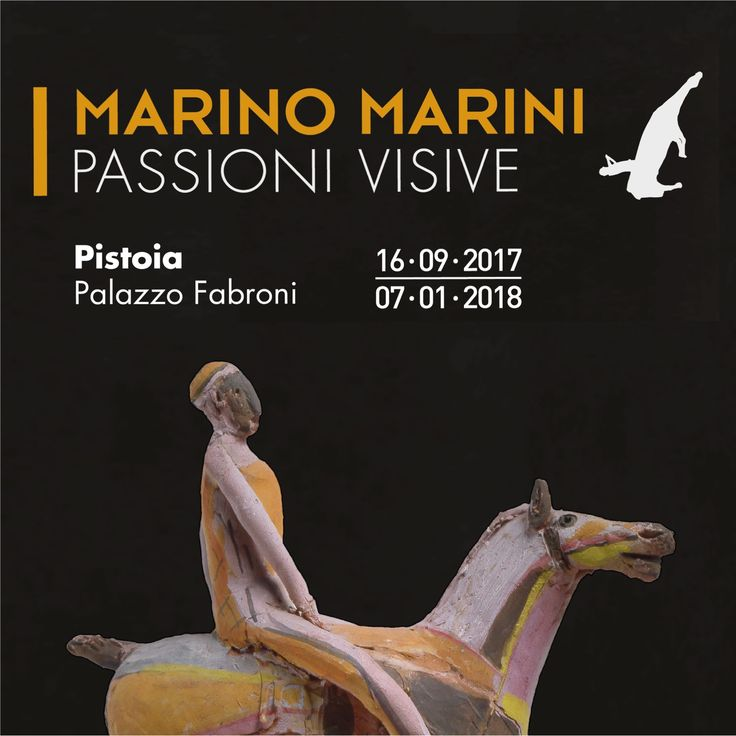 This exhibition is the first retrospective dedicated to Marino Marini, will be held in Pistoia and will be one of the highlights in the celebrations for Pistoia as the 2017 Italian Capital of Culture