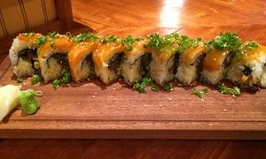 Groupon - Asian-Fusion Fare at Mejari Fusion Sushi (Up to 42% Off) in Seattle. Groupon deal price: $18.50