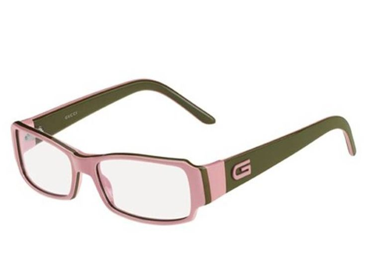 Pink and green Gucci eyeglasses Supreme in Pink and ...