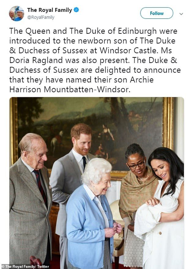 Did Harry Choose The Name Archie As Tribute To Prince George Prince George Archie Prince William And Kate