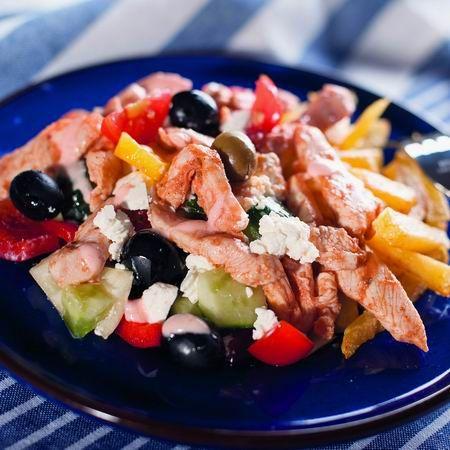 Görög aprópecsenye Recept képpel - Mindmegette.hu - Receptek
