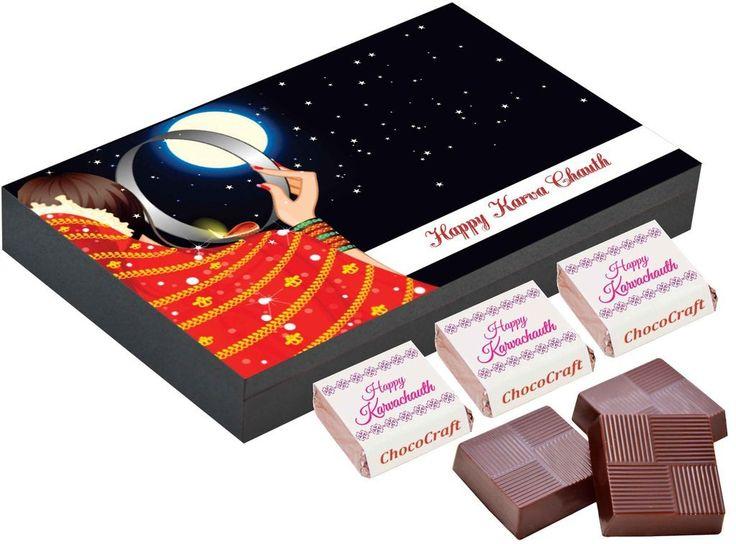 Karvachauth gift items   Chocolate box
