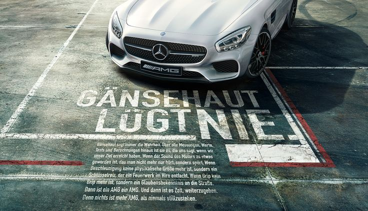 Mercedes-Benz AMG Campaign on Behance