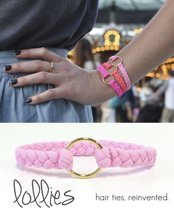 accessory double duty: hair tie | bracelet