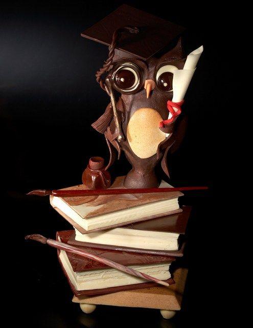 A cake dedicated to books.