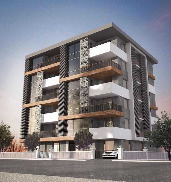Best Modern Apartment Architecture Design 63