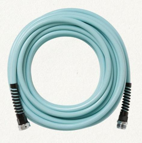 yeah, it's a garden hose. and i'm pinning it.