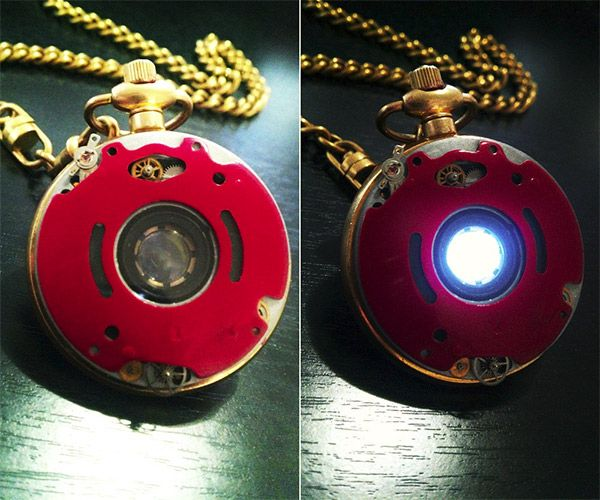 Iron Man Steampunk Pocket Watch