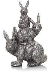 Stacking Rabbits Ornament