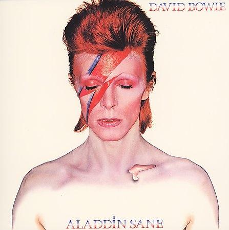 Aladdin Sane - David Bowie (1973) #Duffy #Mick Ronson #myLP