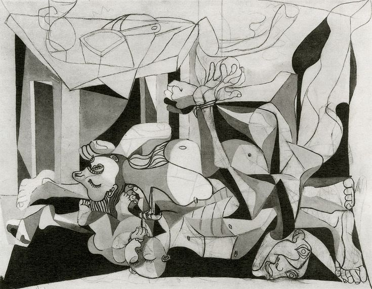 Picasso - The Charnel House, 1944-45