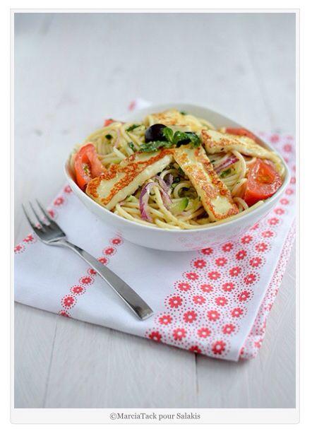 Spaghettis au Grillis de Salakis par Marcia Tack