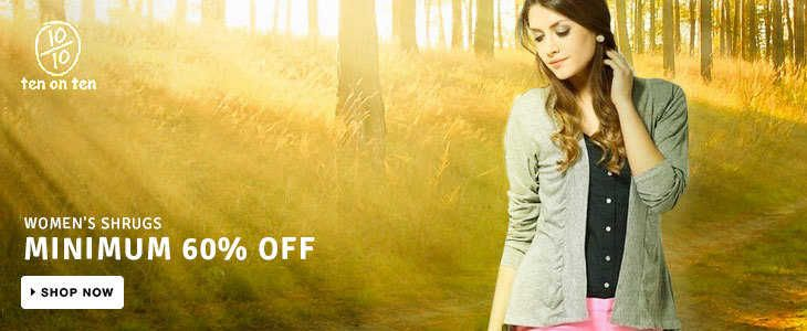 #‎Flipkart‬ is offering minimum 60% off on Women shrugs !! Best ‪#‎deals‬ with ‪#‎MadpiggyApp‬ Download now: goo.gl/xXtOSu