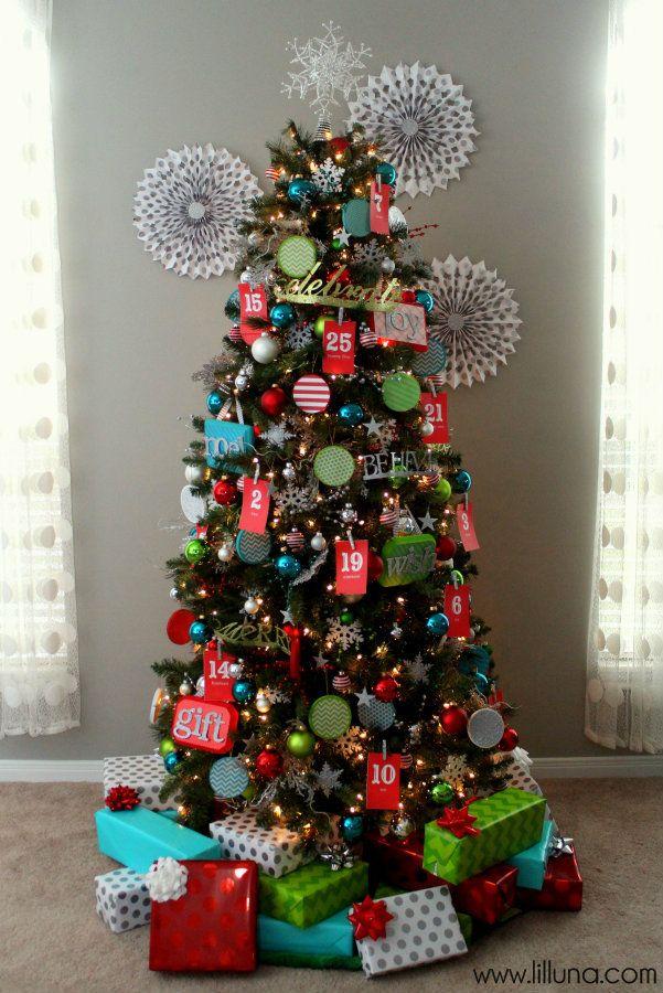 Christmas Tree Decorating Ideas Pinterest