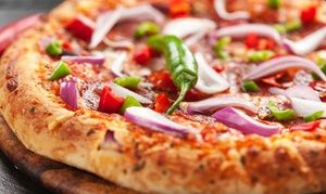 Groupon - $ 22 for Pizzas and Garlic Bread for Two People at Stones Restaurants, Two Locations (Up to $45 Value) in Multiple Locations. Groupon deal price: $22