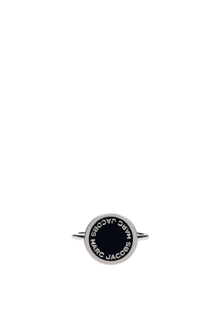 Ring Logo Disc BLACK/SILVER - Marc Jacobs - Designers - Raglady