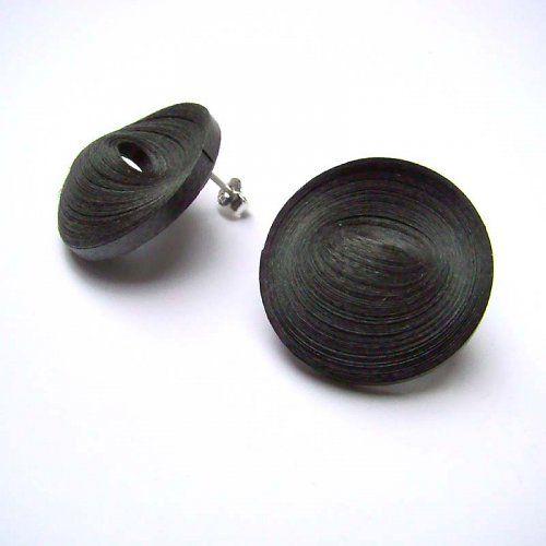 Circles Earrings by Lucie Houdková