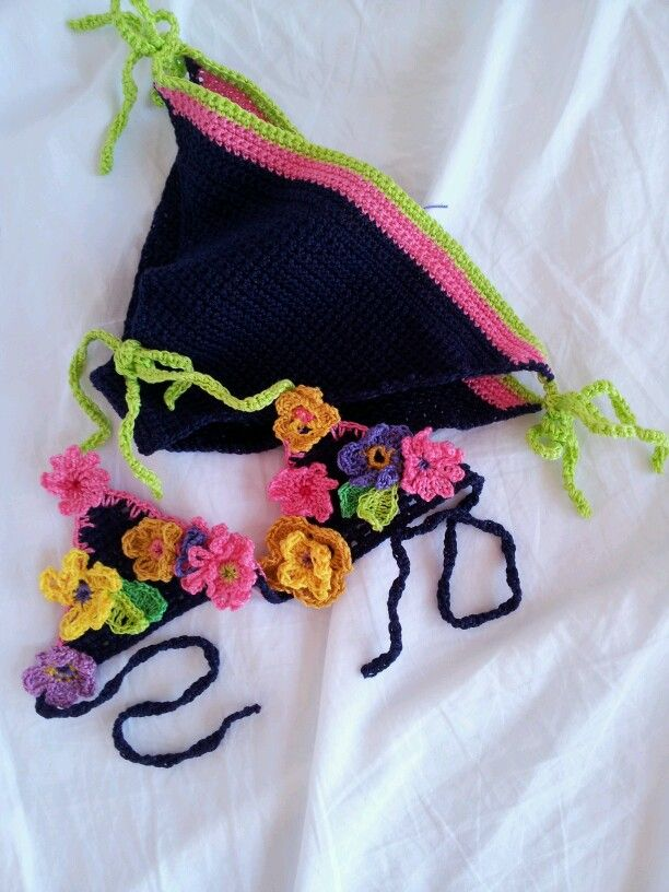 bikini a crochet per bimba