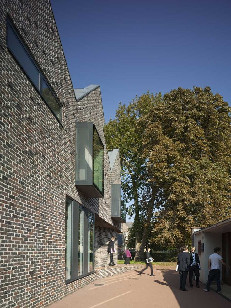 © Peter Cook - Kings College Library / Mitchell Eley Gould Architects