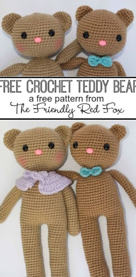 Teddy Bear Crochet Pattern The Best Collection Ever   The WHOot