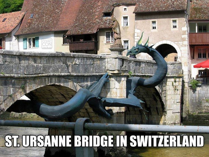 America's bridges are seriously lacking in dragons... #dragons  /  #SLCC15 tickets are on sale now: http://saltlakecomiccon.com/slcc-2015-tickets/?cc=Pinterest