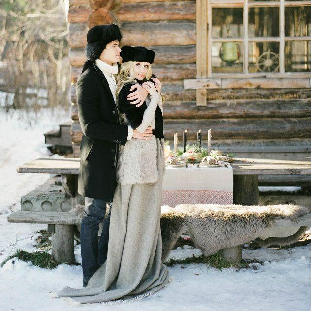 Зимние образы: 35 фотоидей для запоминающейся свадьбы
