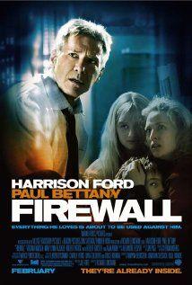 FIREWALL.  Director: Richard Loncraine.  Year: 2006.  Cast: Harrison Ford, Virginia Madsen, Paul Bettany, Carly Schroeder