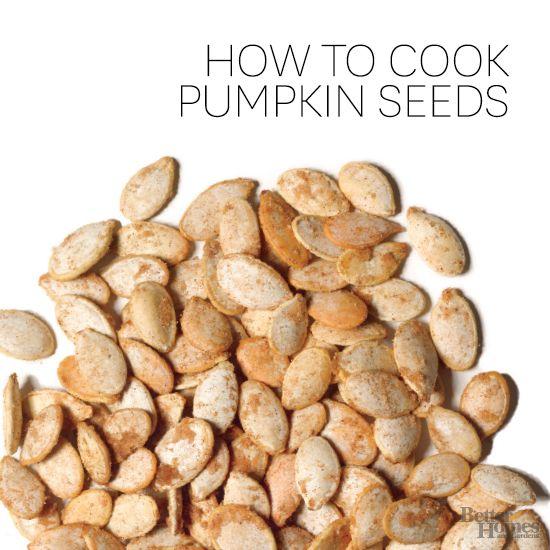 jack-o'-lantern or pie pumpkin to make a tasty, toasted pumpkin seed ...