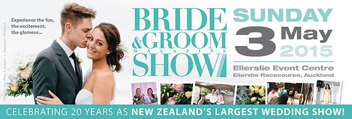 Bride & Groom Show - 20 years as New Zealand's biggest and best wedding show  www.brideandgroom.co.nz