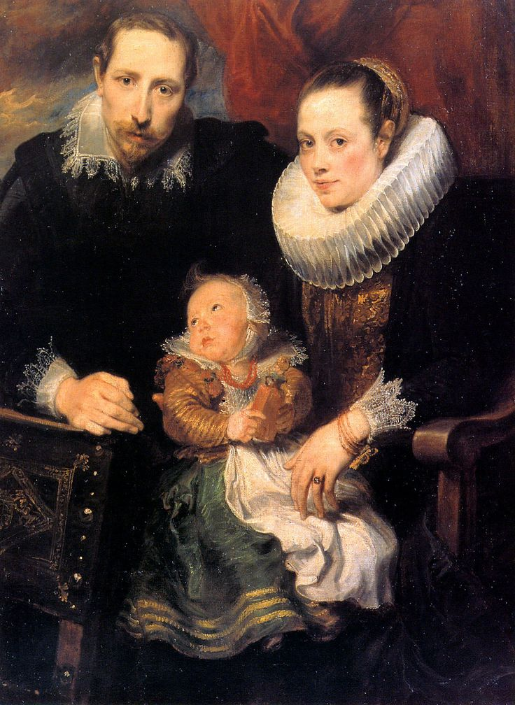 Family Portrait, ca. 1619