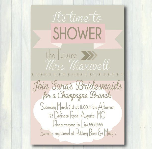 The 25 best Bridal shower invitation wording ideas on Pinterest