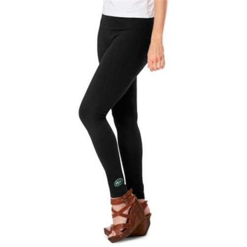 $44.95 Meesh & Mia New York Jets Ladies Team Leggings - Black