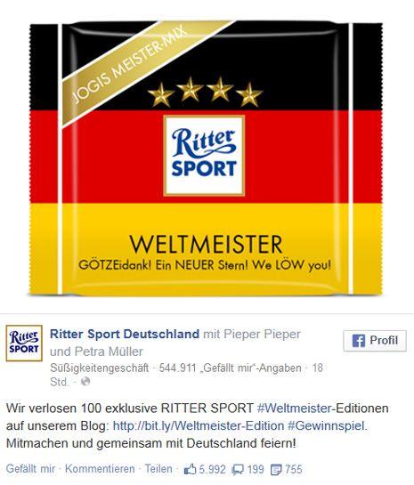 Ritter Sport Germany WM 2014