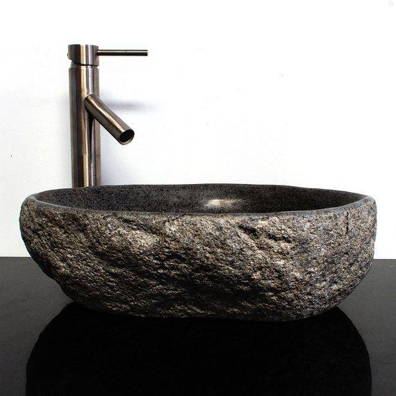 Riverstone Granite Boulder Vessel Sink Rsjb 11 Countertops Kitchen Countertops Cheap Countertops