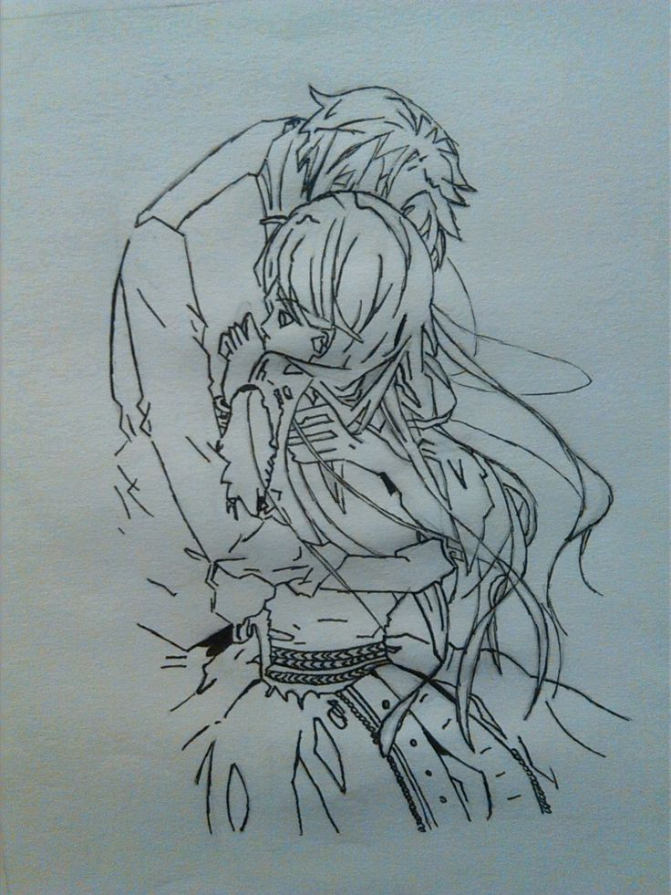 The Earl and The Fairy - Edgar e Lydia. I portrait this sketch by an image I found in Internet.
