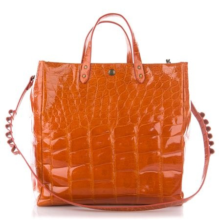 Fedra bag limited edition big size color orange