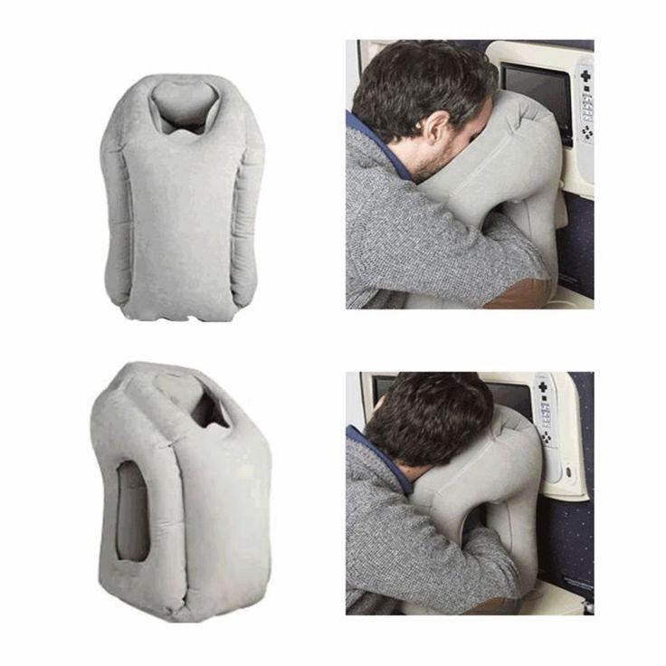 Aufblasbares Reisekissen Travel Pillow Schlafkissen Nackenkissen Flugzeug Kissen