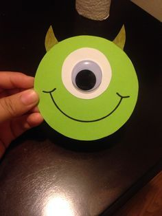 Monsters inc Invitations  Add address on the back. Had fun doing these :)