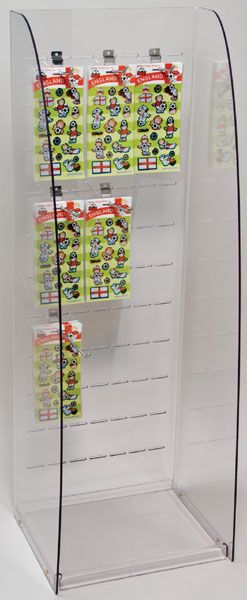 POS Display : Slotted Merchandisers Point of Sale Display