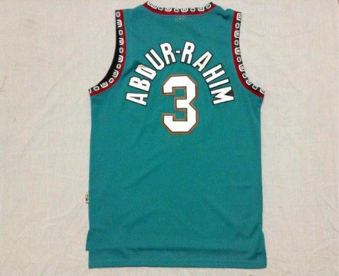 Memphis Grizzlies 3 Shareef Abdur-Rahim Green Revolution 30 NBA Jerseys . 63354d63c
