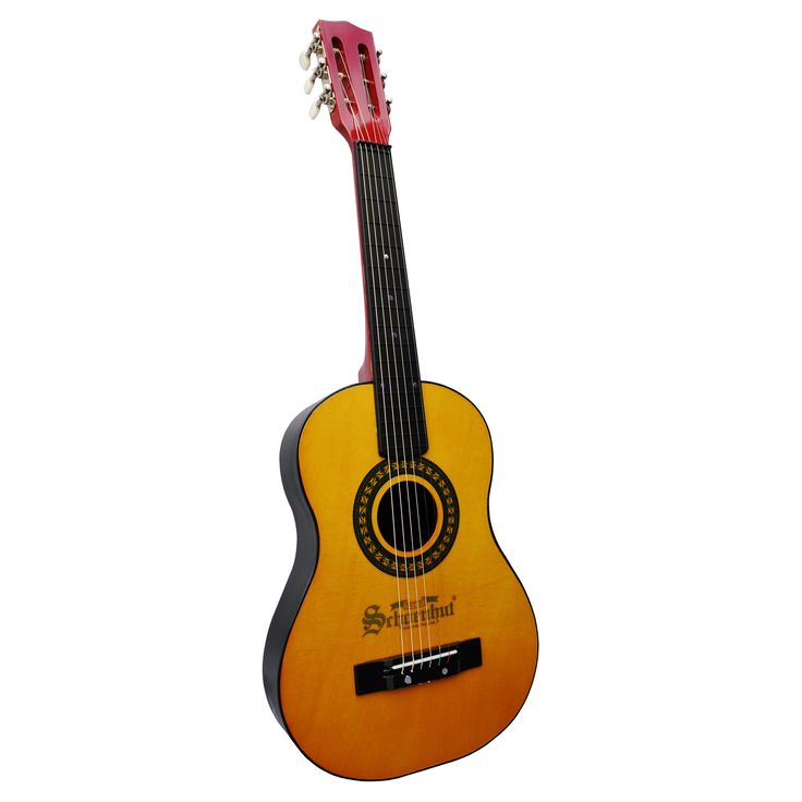 Schoenhut Oak Mahogany Acoustic Guitar - The Schoenhut Oak Mahogany Acoustic Guitar is a real beauty.This guitar has an innovative design incorporating a molded composite body with dual curve...