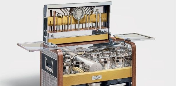 Rolls-Royce lança bar portátil e luxuoso no valor de R$ 170 mil