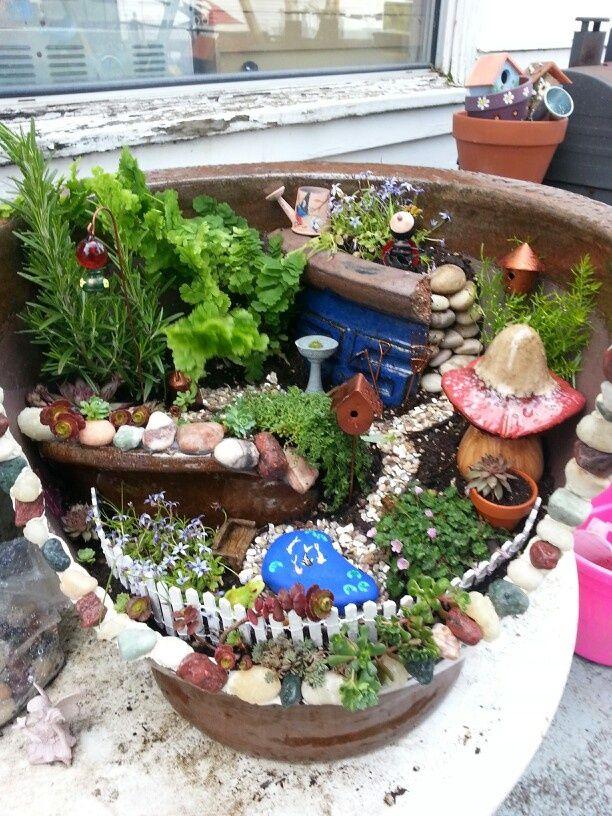 1000+ Images About Mermaid/Fairy Garden Ideas On Pinterest